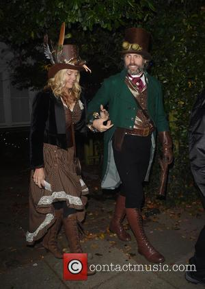 John Bishop attends Jonathan Ross' annual Halloween party held at his home - London, United Kingdom - Monday 31st October...