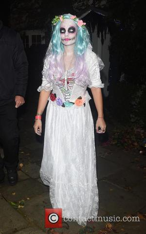 Lilly Allen attends Jonathan Ross' annual Halloween party held at his home - London, United Kingdom - Monday 31st October...