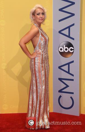 Meghan Linsey seen arriving at the 50th annual CMA (Country Music Association) Awards held at Music City Center in Nashville,...