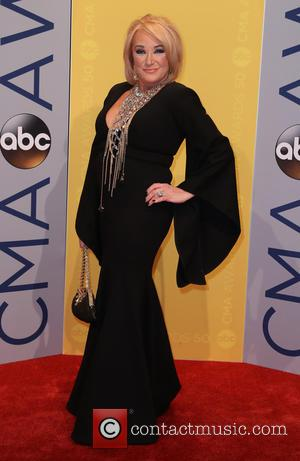 Tanya Tucker seen arriving at the 50th annual CMA (Country Music Association) Awards held at Music City Center in Nashville,...