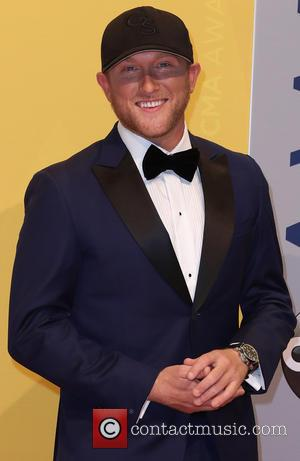Cole Swindell seen arriving at the 50th annual CMA (Country Music Association) Awards held at Music City Center in Nashville,...