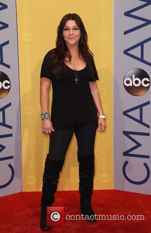 Gretchen Wilson seen arriving at the 50th annual CMA (Country Music Association) Awards held at Music City Center in Nashville,...