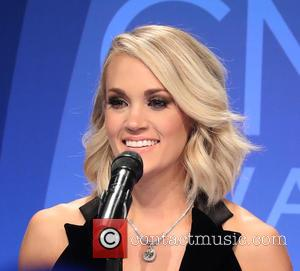 Carrie Underwood in the press room at the 50th Annual CMA Awards held at Brigestone Arena, Nashville, Tennessee, United States...