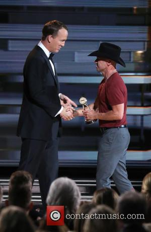 Kenny Chesney and Peyton Manning