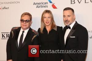 Sir Elton John, diana Krall and David Furnish