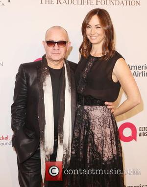 Bernie Taupin and Heather Taupin