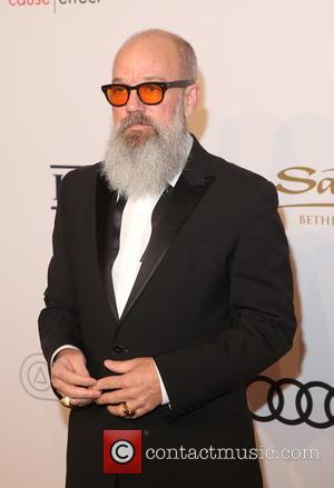 Michael Stipe arriving at Elton John's 15th annual AIDS Foundation benefit held at Cipriani Wall Street, New York, United States...