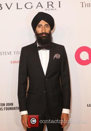 Waris Ahluwalia arriving at Elton John's 15th annual AIDS Foundation benefit held at Cipriani Wall Street, New York, United States...