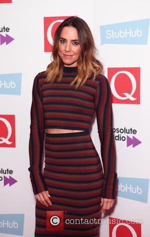 Mel C seen arriving at the 2016 StubHub Q Awards, London, United Kingdom - Wednesday 2nd November 2016
