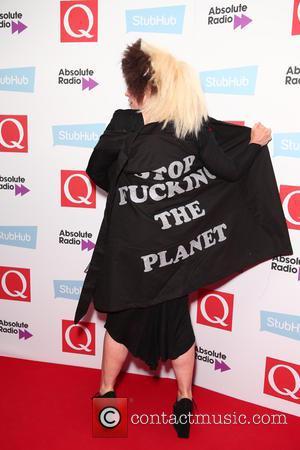 Debbie Harry of Blondie seen arriving at the 2016 StubHub Q Awards, London, United Kingdom - Wednesday 2nd November 2016