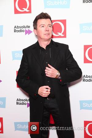 Rick Astley seen arriving at the 2016 StubHub Q Awards, London, United Kingdom - Wednesday 2nd November 2016
