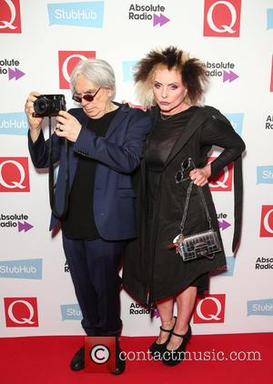 Debbie Harry and Chris Stein seen arriving at the 2016 StubHub Q Awards, London, United Kingdom - Wednesday 2nd November...