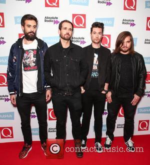 Bastille seen arriving at the 2016 StubHub Q Awards, London, United Kingdom - Wednesday 2nd November 2016