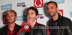 Muse, Matt Bellamy, Chris Wolstenholme and Dominic Howard