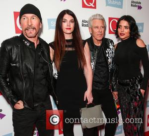 U2, The Edge, David Evans and Adam Clayton