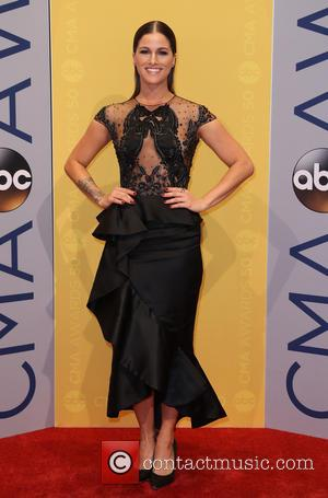 Cassadee Pope seen arriving at the 50th annual CMA (Country Music Association) Awards held at Music City Center in Nashville,...