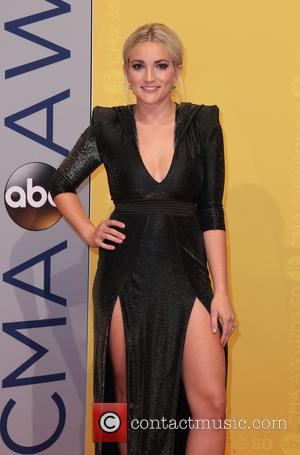 Jamie Lynn Spears seen arriving at the 50th annual CMA (Country Music Association) Awards held at Music City Center in...