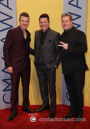 Rascal Flatts seen arriving at the 50th annual CMA (Country Music Association) Awards held at Music City Center in Nashville,...