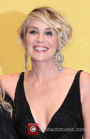Sharon Stone seen arriving at the 50th annual CMA (Country Music Association) Awards held at Music City Center in Nashville,...