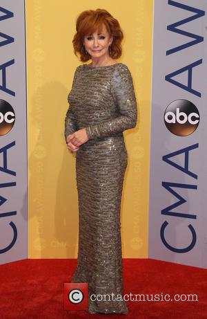 Reba McEntire seen arriving at the 50th annual CMA (Country Music Association) Awards held at Music City Center in Nashville,...