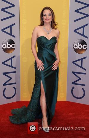 Kimberly Williams-Paisley seen arriving at the 50th annual CMA (Country Music Association) Awards held at Music City Center in Nashville,...