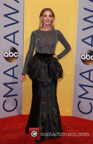 Faith Hill seen arriving at the 50th annual CMA (Country Music Association) Awards held at Music City Center in Nashville,...