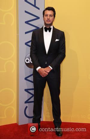 Luke Bryan seen arriving at the 50th annual CMA (Country Music Association) Awards held at Music City Center in Nashville,...