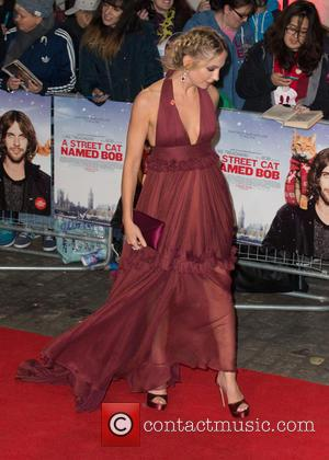 Joanne Froggatt at the world premiere of 'A Street Cat Named Bob' held at the Curzon Mayfair. The movie is...