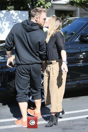 Hilary Duff and Jason Walsh seen leaving Fred Segal after going shopping and having lunch together in West Hollywood, Los...