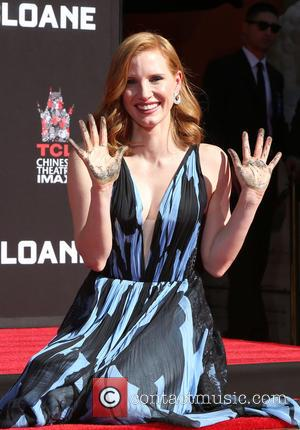 Jessica Chastain is honoured at her hand And Footprint Ceremony at TCL Chinese Theatre  - Hollywood, California, United States...
