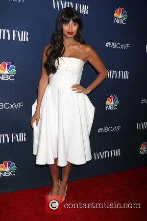 Jameela Jamil at an event hosted by NBC And Vanity Fair to toast the 2016-2017 TV Season held at NeueHouse,...