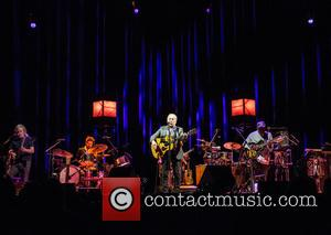 As part of his UK tour, Paul Simon performs live at a sold out concert Bournemouth International Centre (BIC) -...