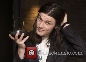 James Bay seen in the press room at the 2016 StubHub Q Awards. James won the award for the 'Best...