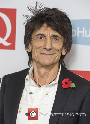 Ron Wood and Ronnie Wood