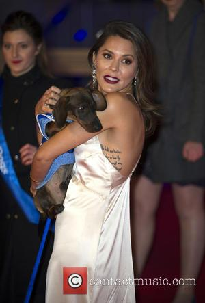 Danielle Bux seen at Battersea Dogs & Cats Home's Collars & Coats Gala Ball held at the Battersea Evolution, London,...