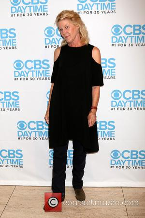 Alley Mills at a celebration hosted by CBS for their show 'The Bold and the Beautiful' which celebrates being their...