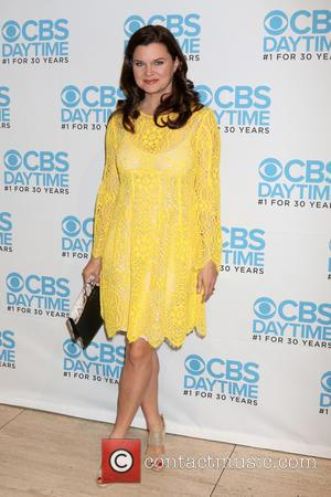 Heather Tom at a celebration hosted by CBS for their show 'The Bold and the Beautiful' which celebrates being their...