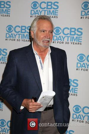 John McCook at a celebration hosted by CBS for their show 'The Bold and the Beautiful' which celebrates being their...