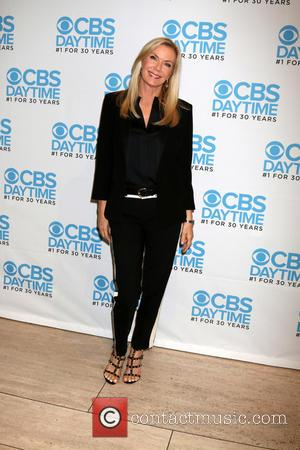Katherine Kelly Lang at a celebration hosted by CBS for their show 'The Bold and the Beautiful' which celebrates being...