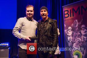 The Edge and Mark Walshe