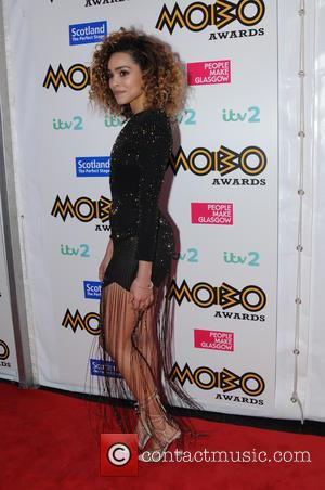 Izzy Bizu arriving at the 2016 MOBO Awards held in Glasgow at the SSE Hydro - Scotland, United Kingdom -...
