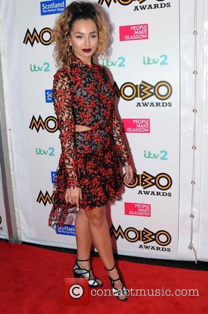 Ella Eyre arriving at the 2016 MOBO Awards held in Glasgow at the SSE Hydro - Scotland, United Kingdom -...