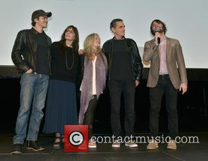 Johnny Simmons, Talia Shire, Beverly D'angelo, Robin Thomas and Robert Schwartzman