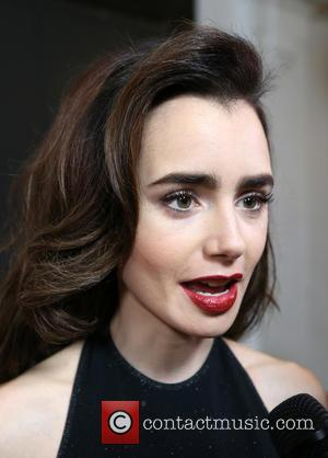 Lily Collins at the 10th Annual GO Campaign Gala held at Manuela, Los Angeles, California, United States - Saturday 5th...
