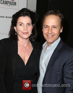 Julia Ormond and Chad Lowe