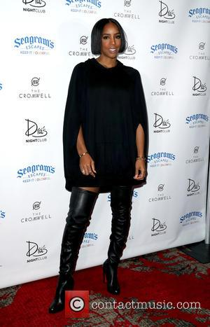 Kelly Rowland seen arriving at Nelly's Weekend-Long Birthday Celebrations at Drai's Nightclub - Las Vegas, Nevada, United States - Saturday...