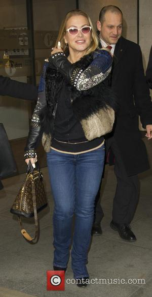 Anastacia seen at BBC Radio 1 after appearing on The Gaby Roslin Show - London, United Kingdom - Sunday 6th...
