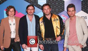 Kings Of Leon, Caleb Followill, Jared Followill, Matthew Followill and Nathan Followill