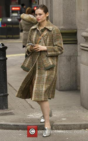 Sophie Ellis-Bextor seen leaving the Sunday Brunch studios - London, United Kingdom - Sunday 6th November 2016