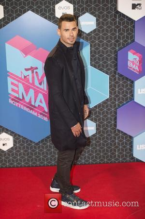 Afrojack seen arriving at the 2016 MTV Europe Music Awards (EMAs) held at the Ahoy Arena, Rotterdam, Netherlands - Sunday...